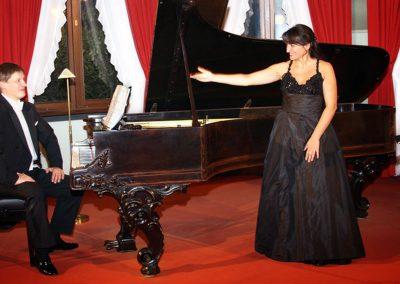 Mathias Manasi with Laura Brioli - Wagner - Villa Bayreuth, 2009