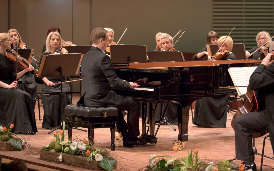 Liepaja Symphony Orchestra concert at the International Piano Stars Festival in Liepaja