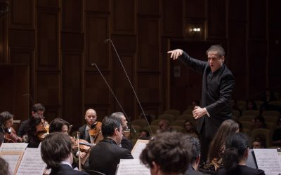 Matthias Manasi makes his debut in Finland and conducting the Vantaa Symphony Orchestra