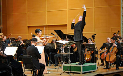 Renowned German conductor Matthias Manasi gave a performance in Almaty (English Translation)